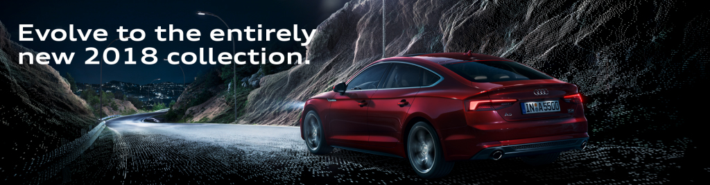 2018 audi collection banner