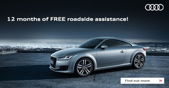 Complimentary Audi Care Roadside Assistance